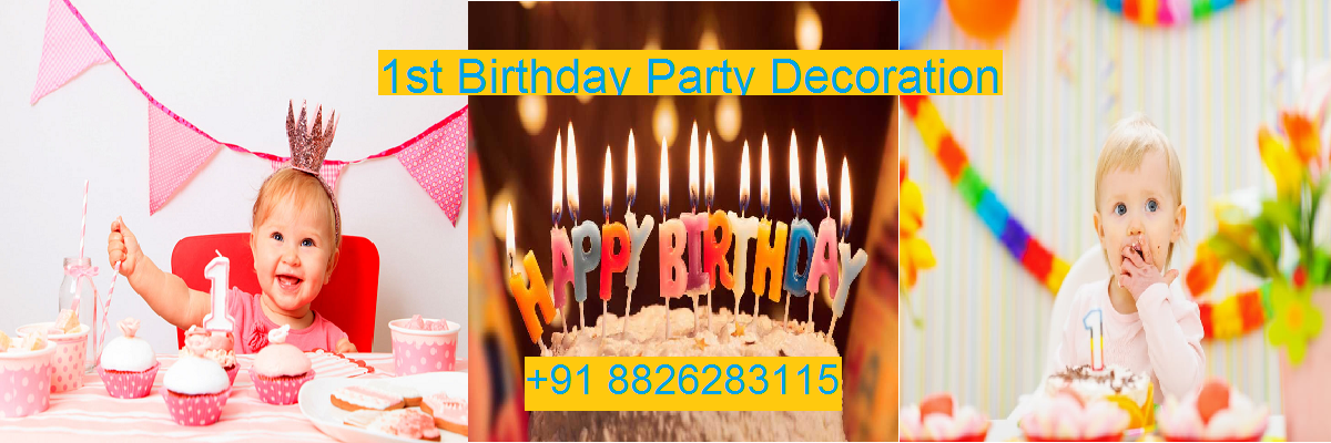 1ST BIRTHDAY Party Planner in Delhi, Noida.