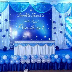 1st birthday Party Decoration in Noida.