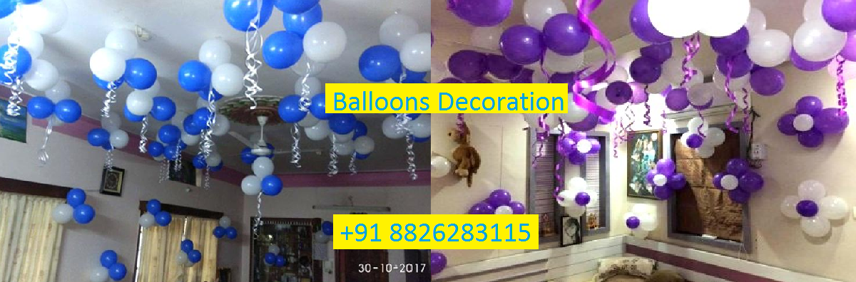 Balloons decorator in Delhi/NCR.