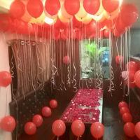 Anniversary balloon decoration in Ghaziabaad, Delhi/ NCR.
