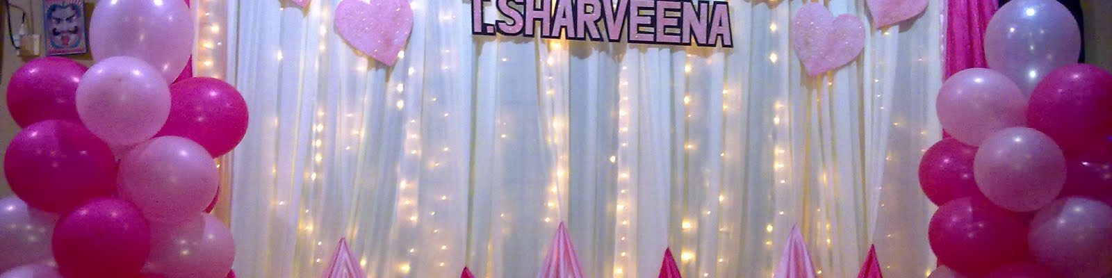 1st birthday decoration in Gurgaon, Delhi. |