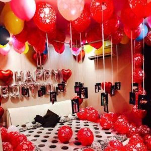Romantic Balloon decoration in Ghaziabaad.