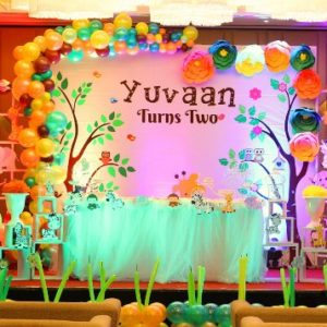 Jungle themed birthday party decoration ideas in Delhi Ncr