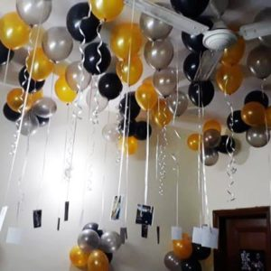 Balloons Decoration ideas at home in Delhi