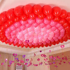 Romantic Balloons Decoration ideas at home in Delhi
